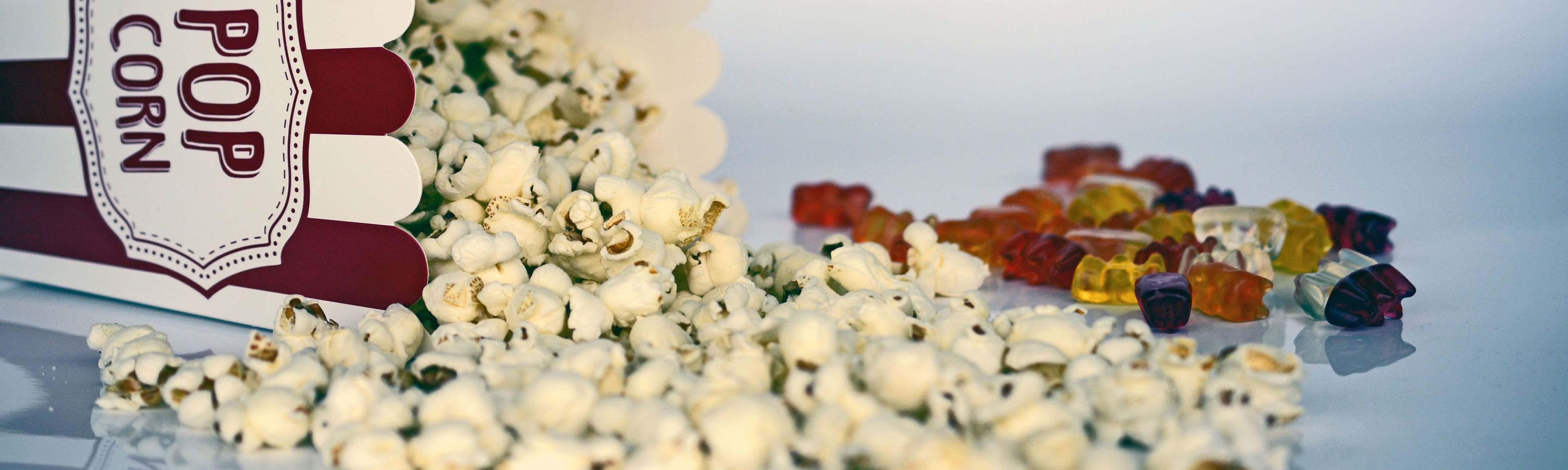 Kino Kinoerlebnis Popkorn Werbung Kinwerbung