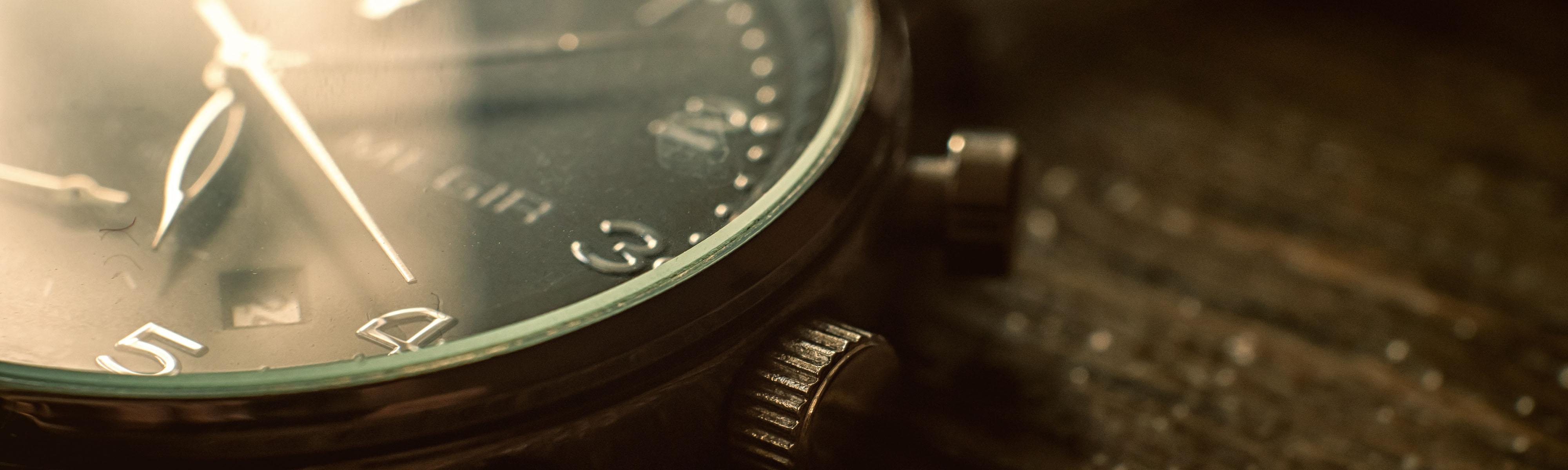 Slider - Imagefilm Uhr Uhrzeit