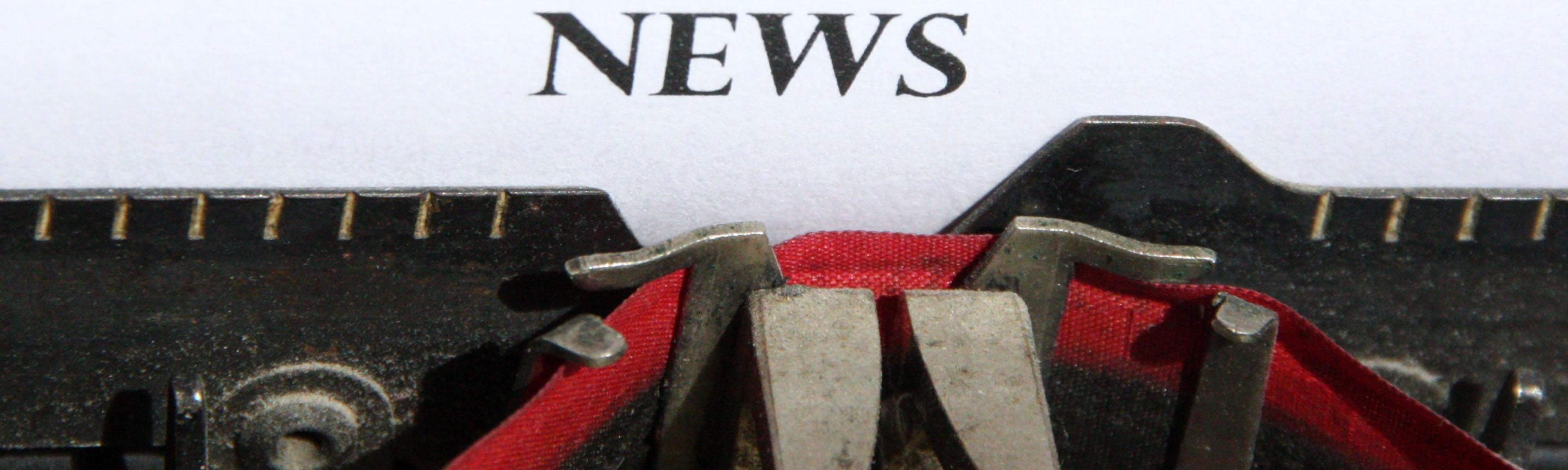 Slider News Schreibmaschine