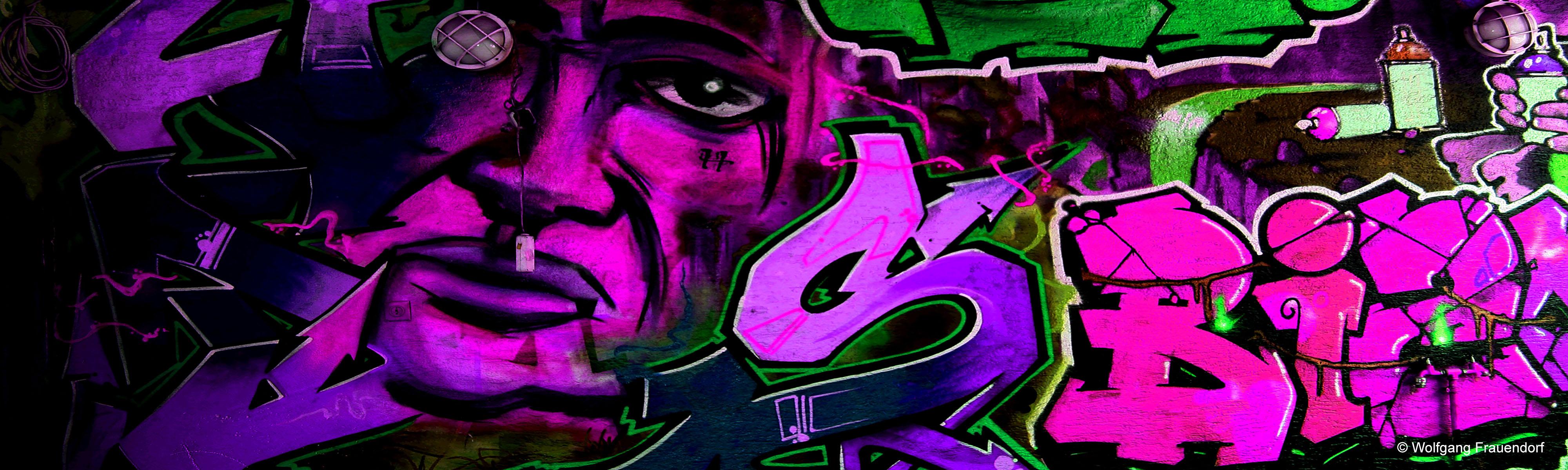 Mauerwerk Kunst Grafiti