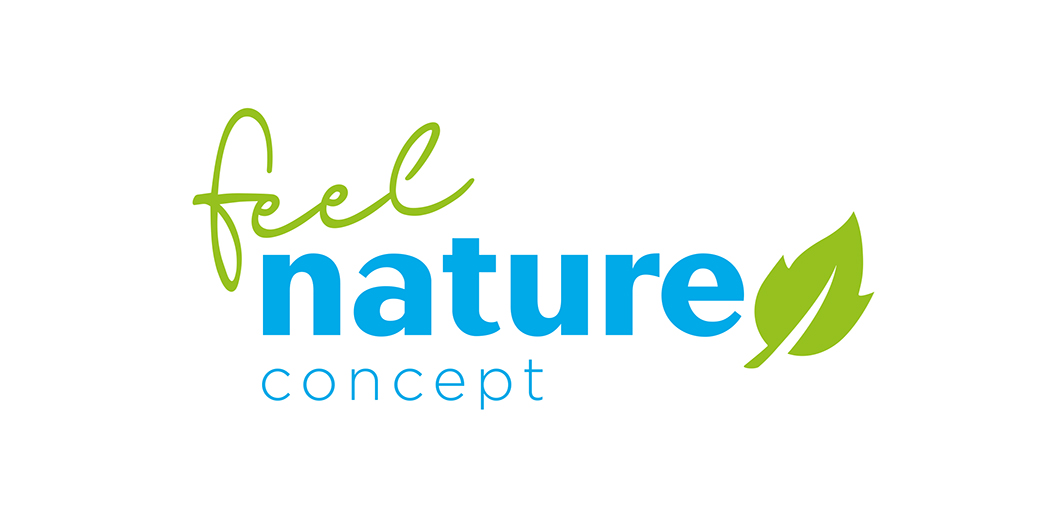 Logo feel nature concept